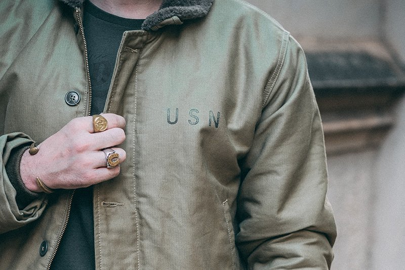 USN N-1 Deck Jacket